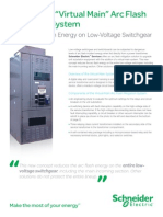 "Switchgear ""Virtual Main"" Arc Flash Mitigation System"