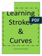 learning strokes and curves Sheets
