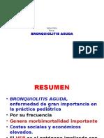 Bronquiolitis aguda en pediatría