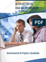 STR038 Gerenciamento de Projetos e Qualidade
