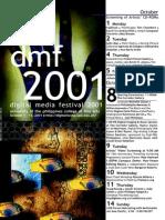 DMF Digital Media Festival 2001 Program