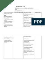 Planificacion Matematicas 2015 2º Semestre
