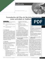Formulación de Un Plan Auditoria de Gestión