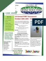 FOBT Newsletter OCt 2009