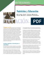 Nutrición y Educación OMS