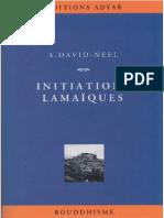 David-h- Initiations Lamaïques