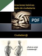 Aproximaciones Teóricas Al Concepto de Ciudadanía