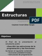 estructuras y funciones en programación basica(visual basic)