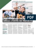 Descubren sus raíces latinas a través del Mariachi