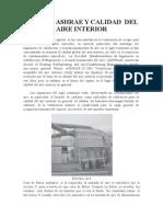 Normas Ashrae y Calidad Del Aire Interior