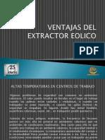 Ventajas Del Extractor Eolico