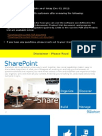 SharePoint Licensing