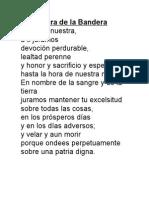 Jura de La Bandera