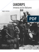 Nigel Thomas - El Afrika Korps y Las Fuerzas Alemanas en Los Balcanes
