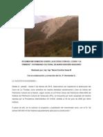 Sobre La Destrucción Del Cerro LA TRINIDAD