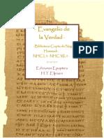 · Evangelio de la Verdad · Biblioteca Copta de Nag Hammadi · NHC I,3 · NHC XII,2 ·