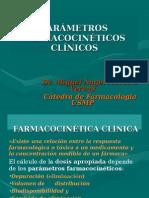 PARÁMETROS FARMACOCINÉTICOS CLÍNICOS