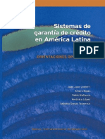 Sistemas de Garantía de Crédito en América Latina. Orientaciones Operativas