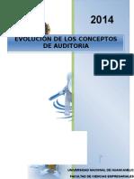 Evolucion Del Concepto de Auditoria