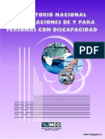 DIRECTORIO NACIONAL DE ASOCIACIONES DE Y PARA PERSONAS CON DISCAPACIDAD