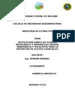 Destilacion de plantas