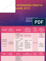 Program Intervensi Panitia Sains 2015
