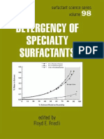 Detergency of Specialty Surfactants Surfactant Science