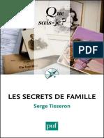 Los secretos de familia, Serge Tisseron