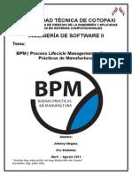 BPM  Ing. MSc. Julio Oña