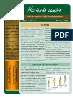 Boletín 1 Proyección Social UNJ