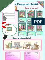 Place Prepositions