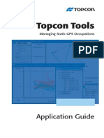 Topcon Tools - Managing Static Occupations Application Guide