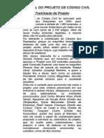 Visão Geral Do Projeto de Código Civil