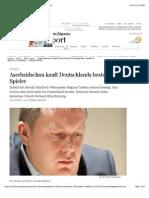 Aserbaidschan Kauft Deutschlands Schachspieler Naiditsch