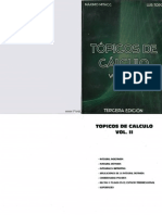 Tópicos de Cálculo Vol. II H