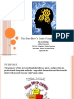 benefits of a brain-compatible education final edu 417