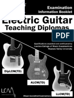 Elec Guit Teach Dip Booklet