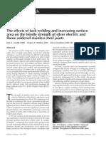 soldering and welding in pediatric dentistry