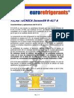 Ficha Refrigerante - r417a