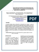 Diseño de Equipos Para Extraccion de Fluidos Supercriticos
