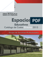 Catalogo de Espacios Educativos 2013