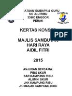 Paper Work Hari Raya 2015