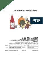 Tecnologia de Frutas y Hortalizas