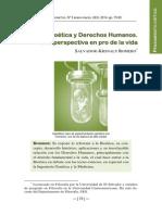 Bioetica y Derechos Humanos - Krishnaly Romero