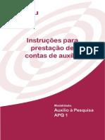 APQ1 - Prestação de Contas