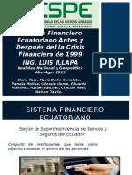Analisis Al Sistema Financiero Ecuatoriano Antes y Despues de 1999