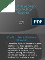 Conflictos Etnicos Politicios y Religiosos