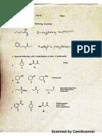 Test3 Organic Chemistry