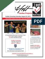 St. Margaret's Heartfelt Cardiac Screening 8/22/15