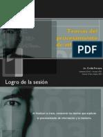 Aprendizaje Cognitivo - Teorías Del Procesamiento de Información. Clase 8